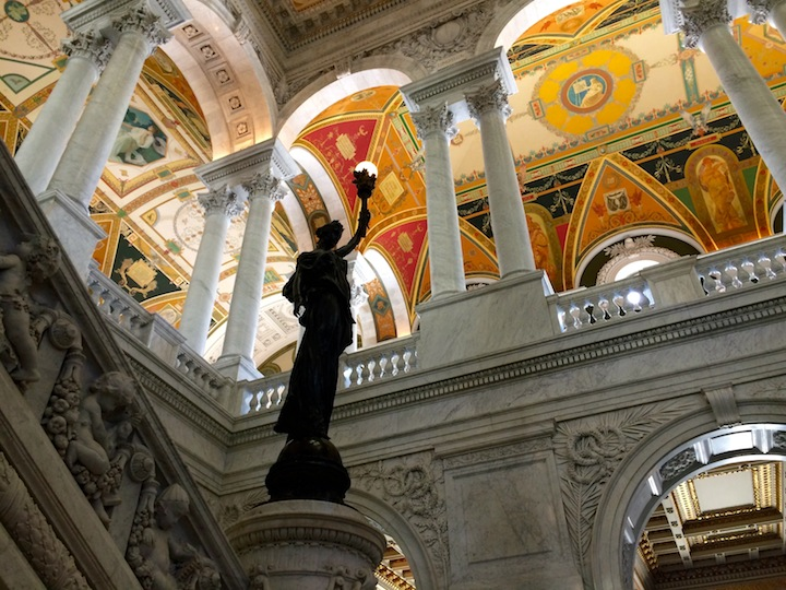 Library of Congress main hall