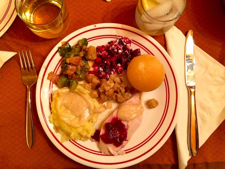 Thanksgiving plate in DC