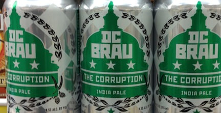 DC BRAU beer The Corruption