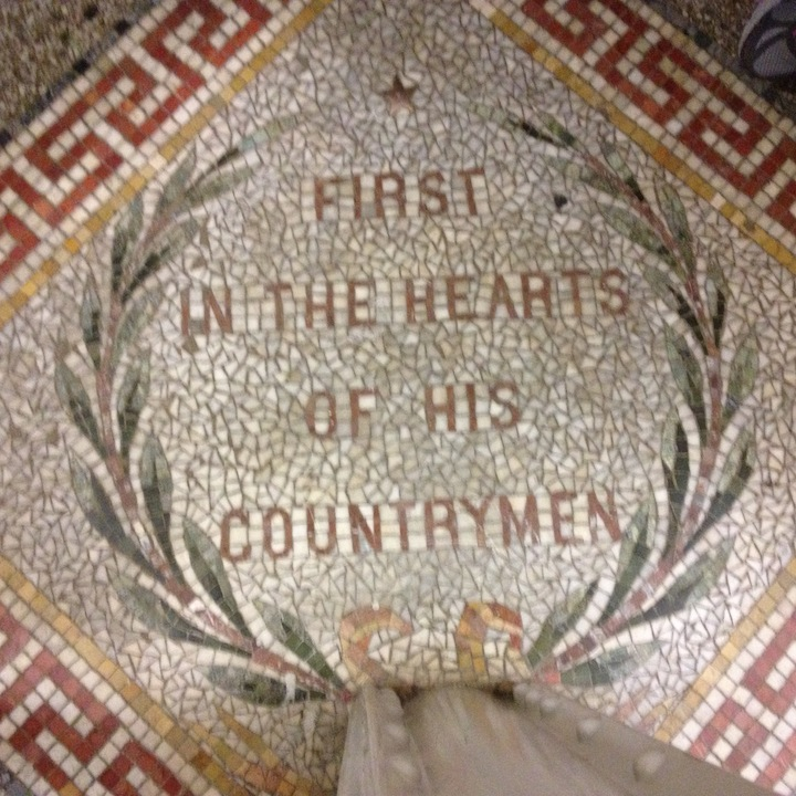 Mosaic in the Washington Monument