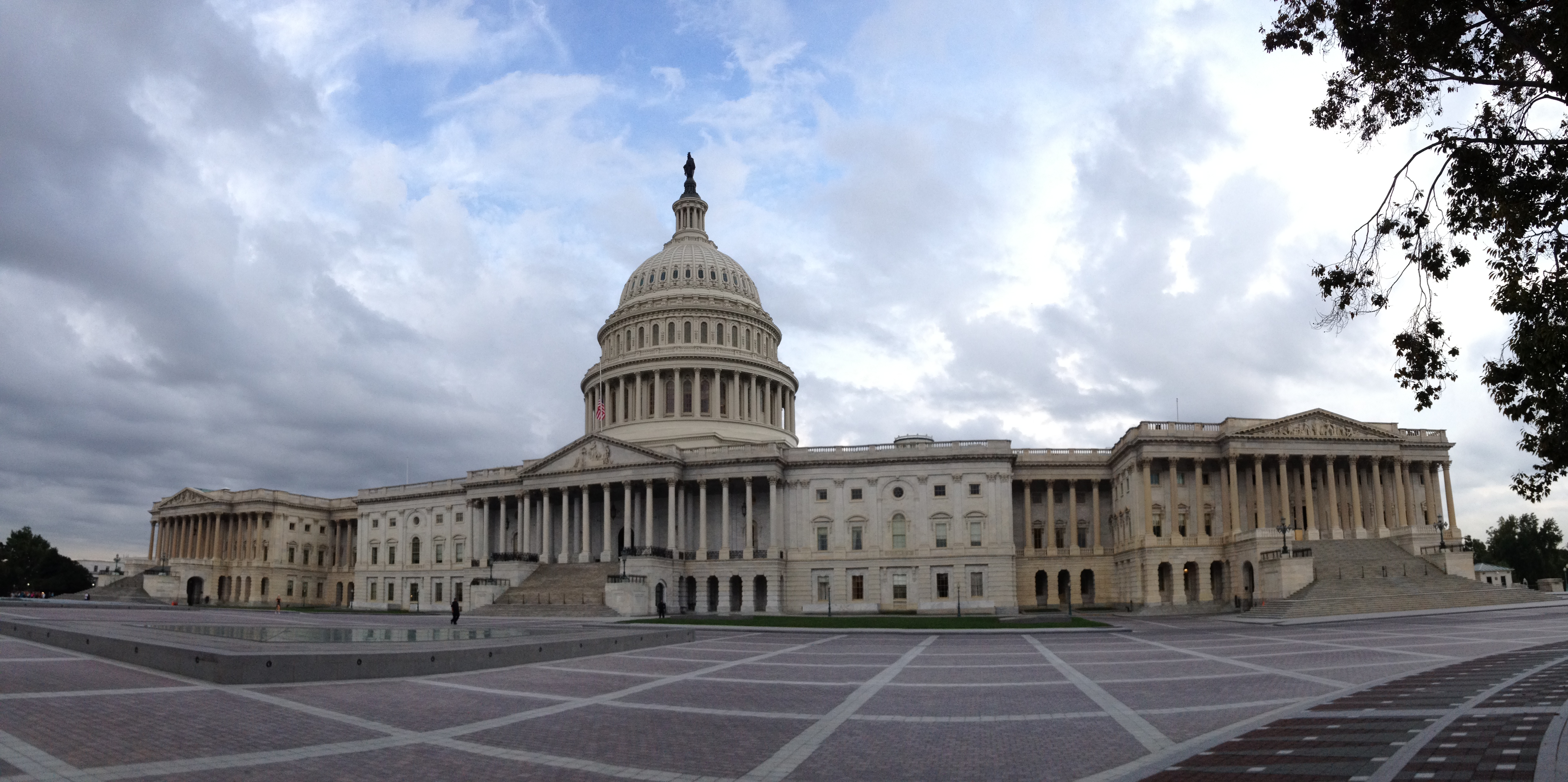The Capitol building, Washington DC