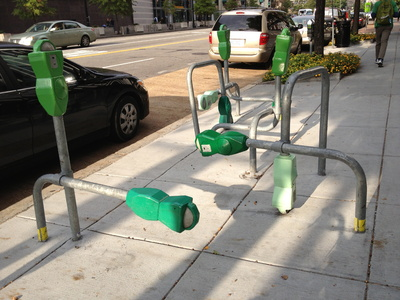 Cool Bike Rack in Washington DC