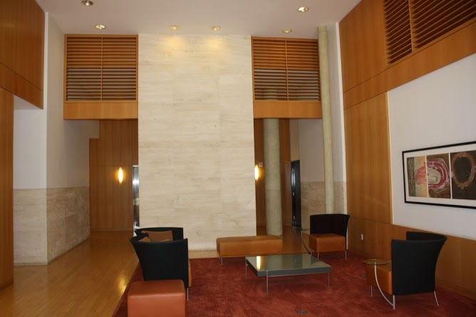 Lobby at Terrell Place condos in Washington DC