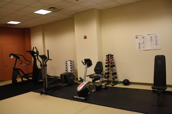 Gym at Terrell Place condos in Washington DC