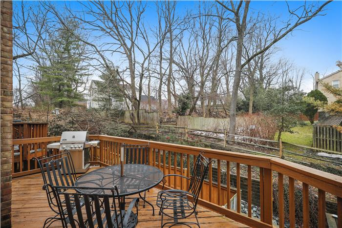 10944 Rocky Mount Way Deck off of living room