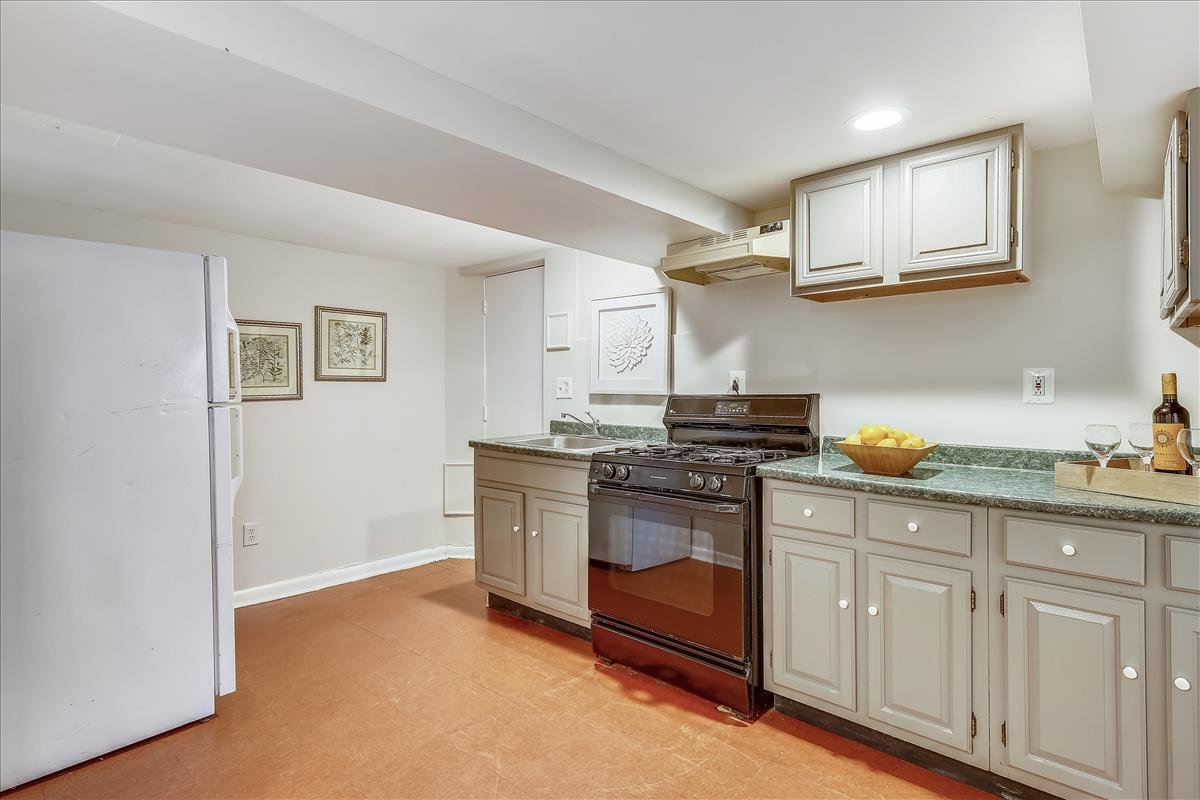 1211 Taylor St NE Washington DC in-law suite kitchen