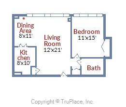 1545 18th ST NW #603 floor plan