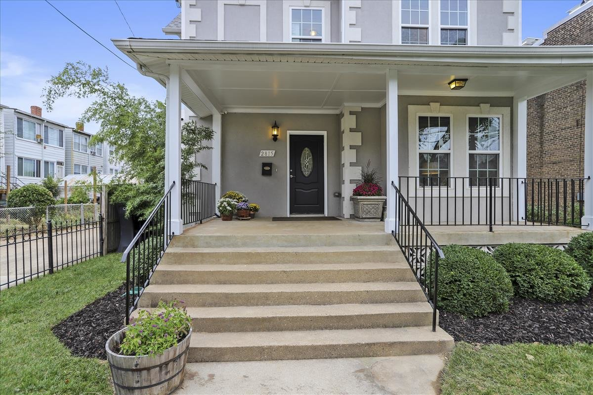 2815 6th ST NE Washington DC front porch