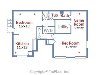 304 Charlton Court Silver Spring MD  floor plan lower level