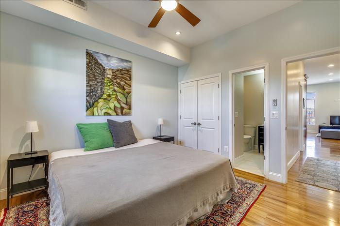 3519 14th ST NW #4 Washington DC master Bedroom