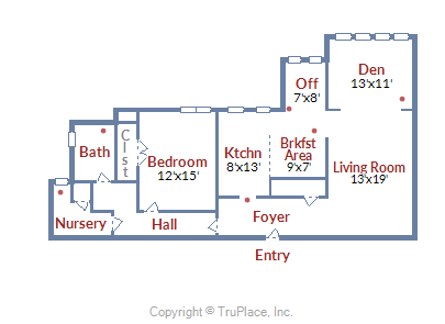 3901 Connecticut Ave, #200 NW DC floorplan
