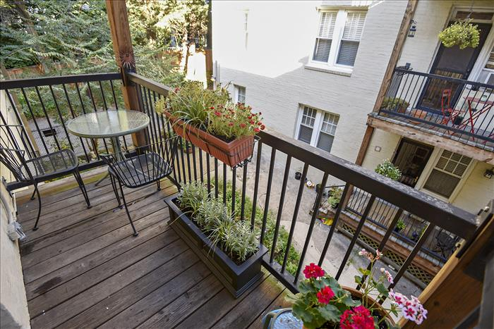 5112 Connecticut Ave NW #207 Washington DC Balcony