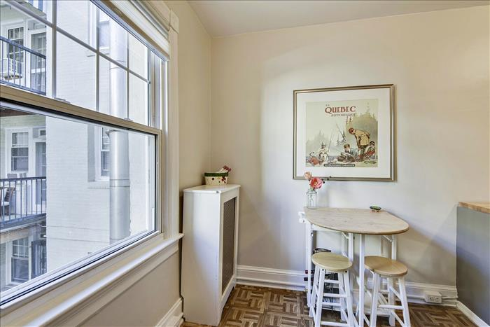 5112 Connecticut Ave NW #207 Washington DC  breakfast nook