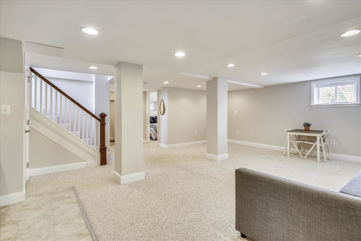 905 Quackenbos ST NW Washington DC finished basement