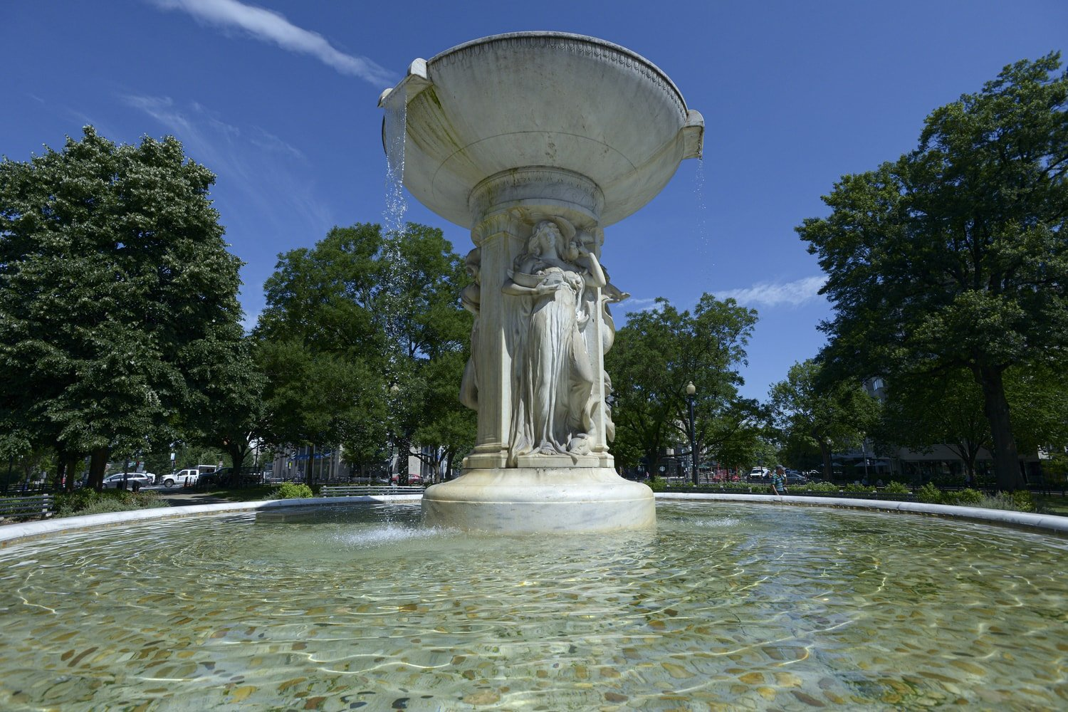 Fountain - Dupont Circle - Washington, DC