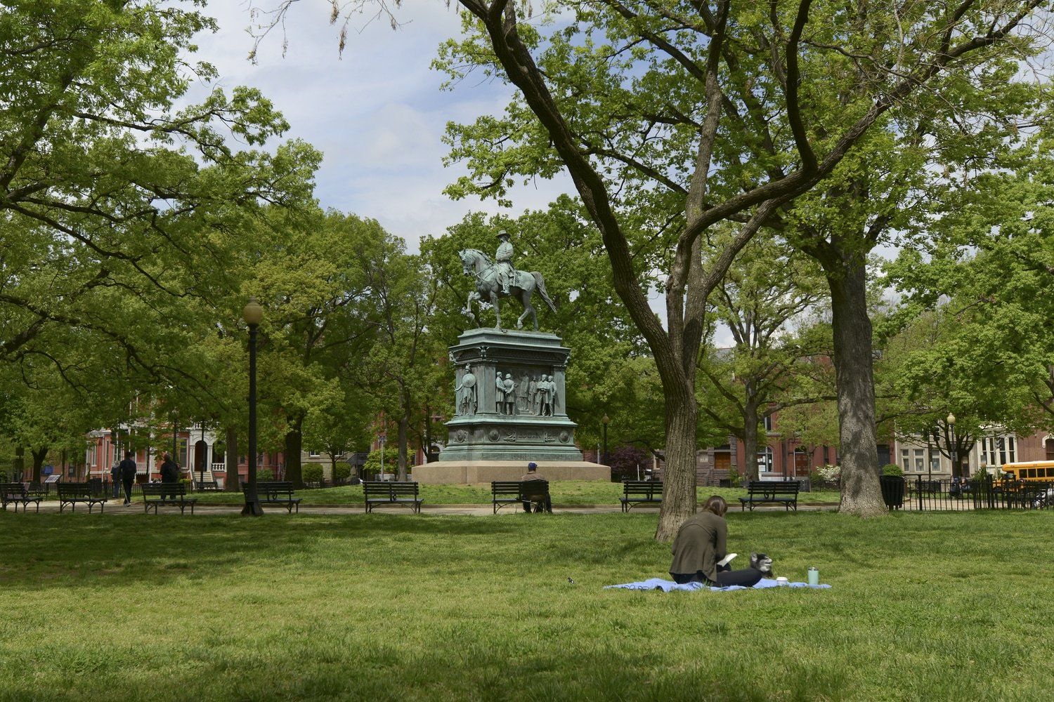 Logan Circle Statue - Wahington, DC