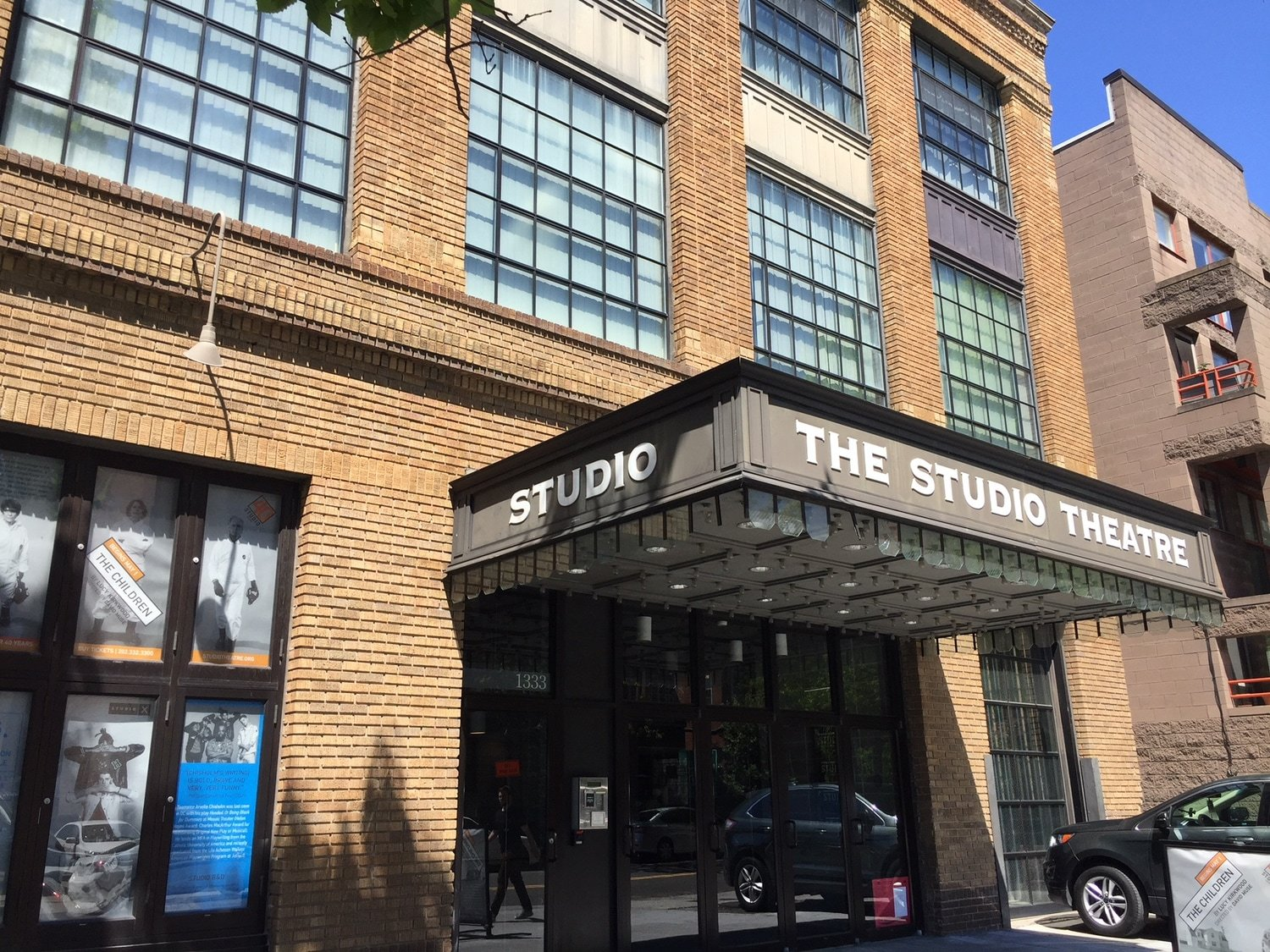 The Studio Theatre Entrance - Logan Circle - Wahington, DC