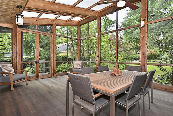 Brookland grandeur for Modern screened porch